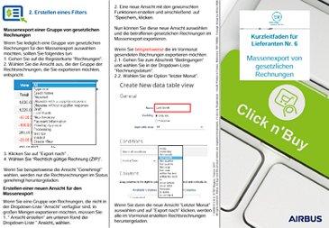 Click n'Pay Broschüre 6 - Massenexport von gesetzlichen Rechnungen