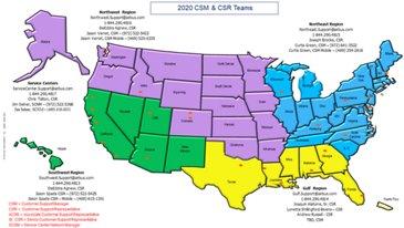 2020 CSM Map
