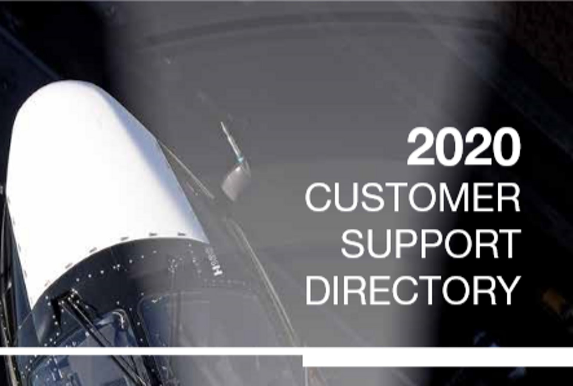 2020 Customer Support Directory