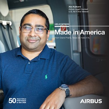 Abe Kulkarni, Airbus Helicopters, Airbus Legal Counsel