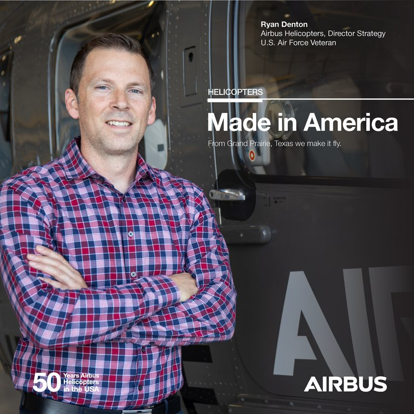 Ryan Denton, Airbus Helicopters, Director Strategy