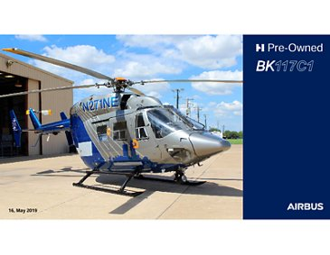 BK117 C1 Pre-Owned Helicopter Brochure