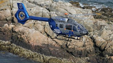 Boston MedFlight H145
