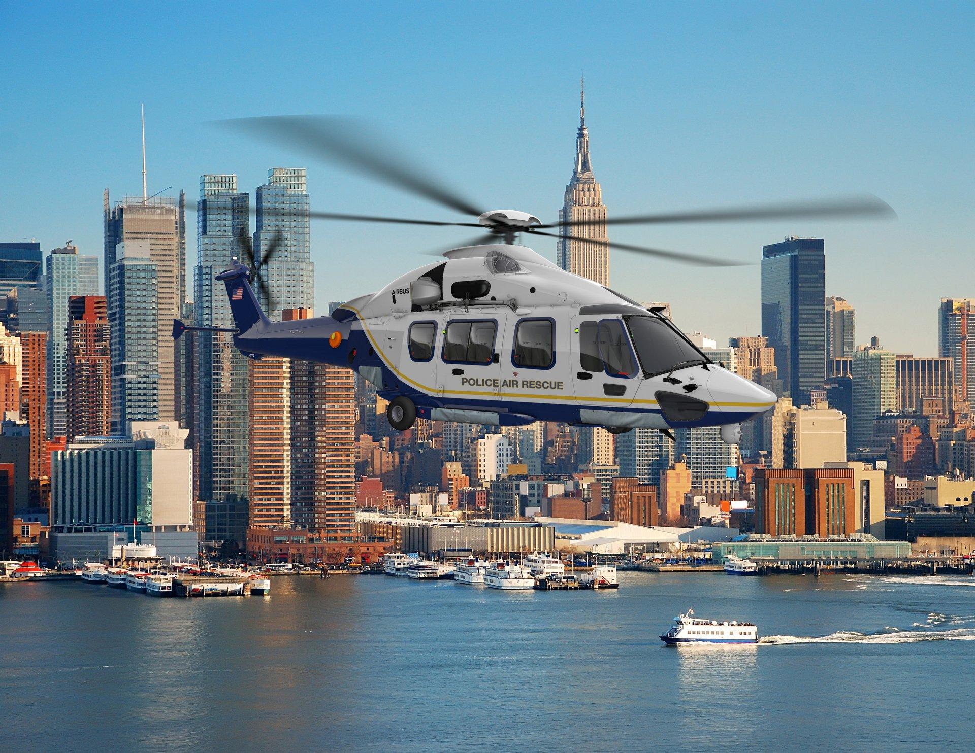 NYPD H175 Hero Shot 1