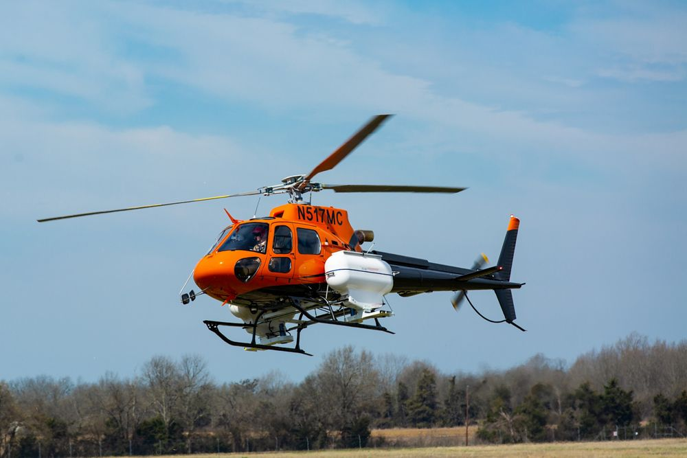 Pasco County Florida H125 for mosquito control missions