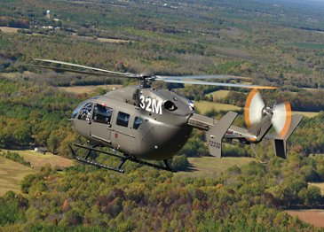 U.S. Army extends contract with an order for 12 new UH-72A Lakota helicopters