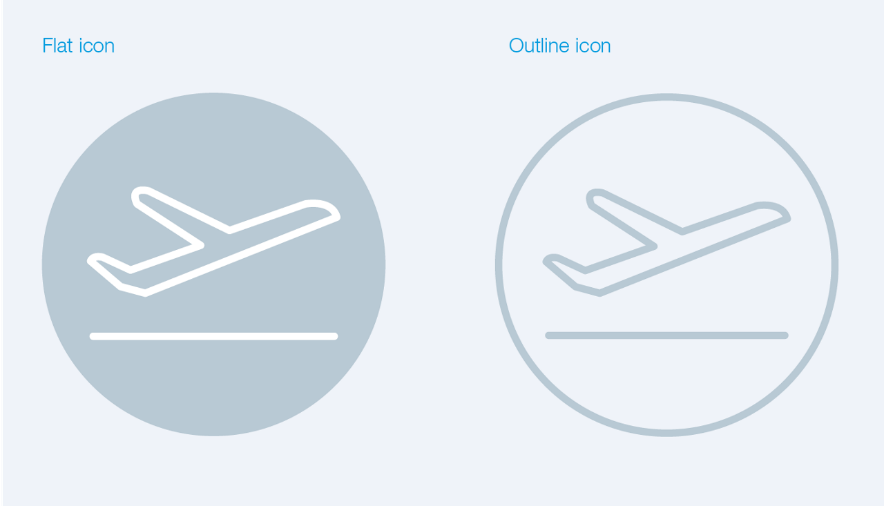 Icons Flat Outline 01