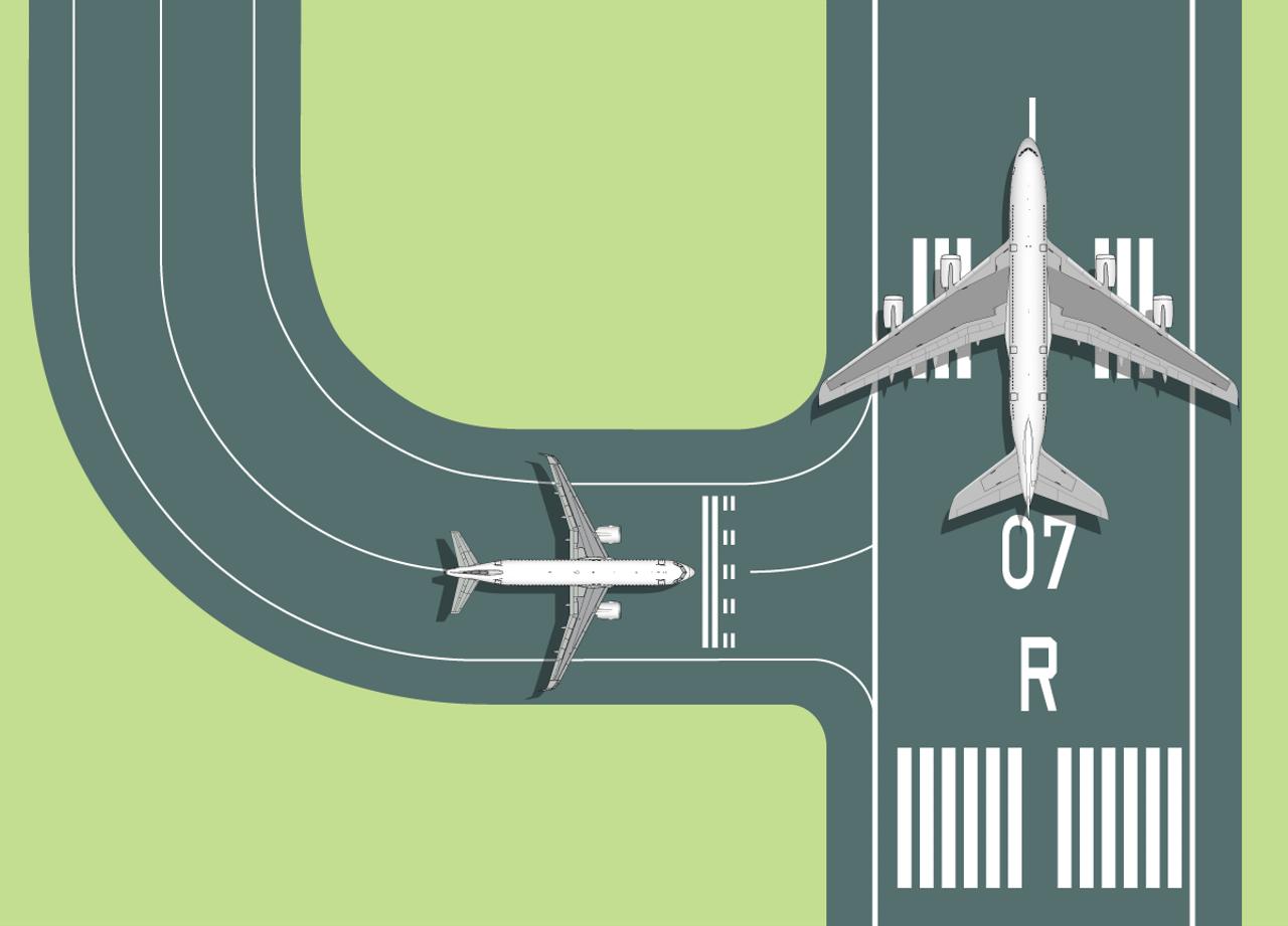 Illustration Runway