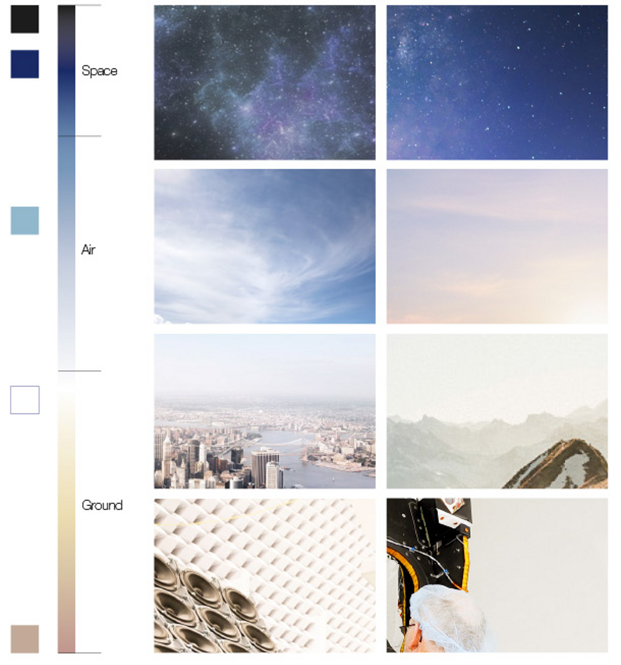 Photography Styleguide Colour Range 1