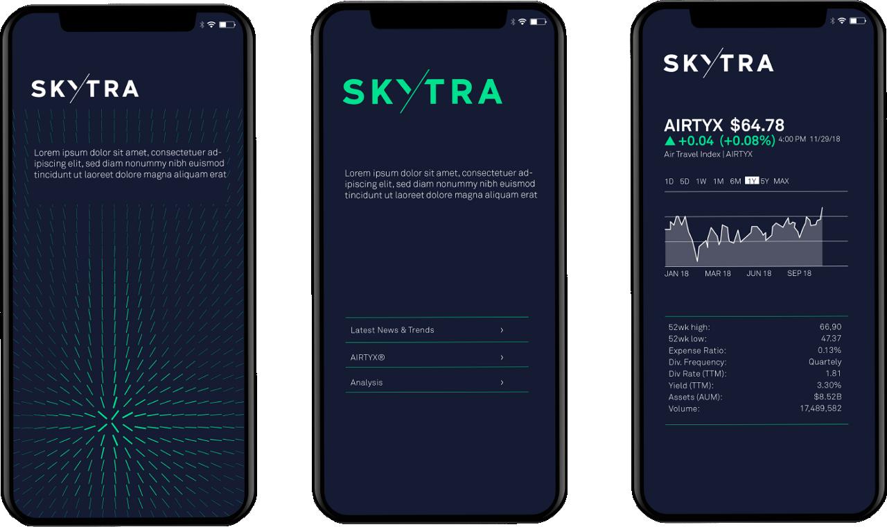 Skytra Applications Mobile App