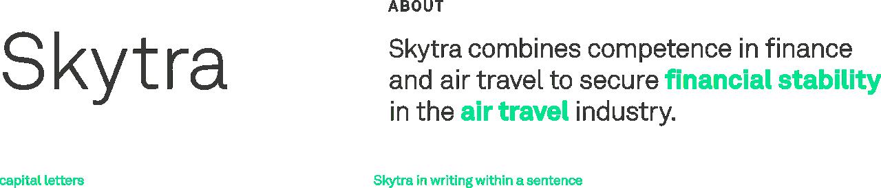 Skytra Brand Name