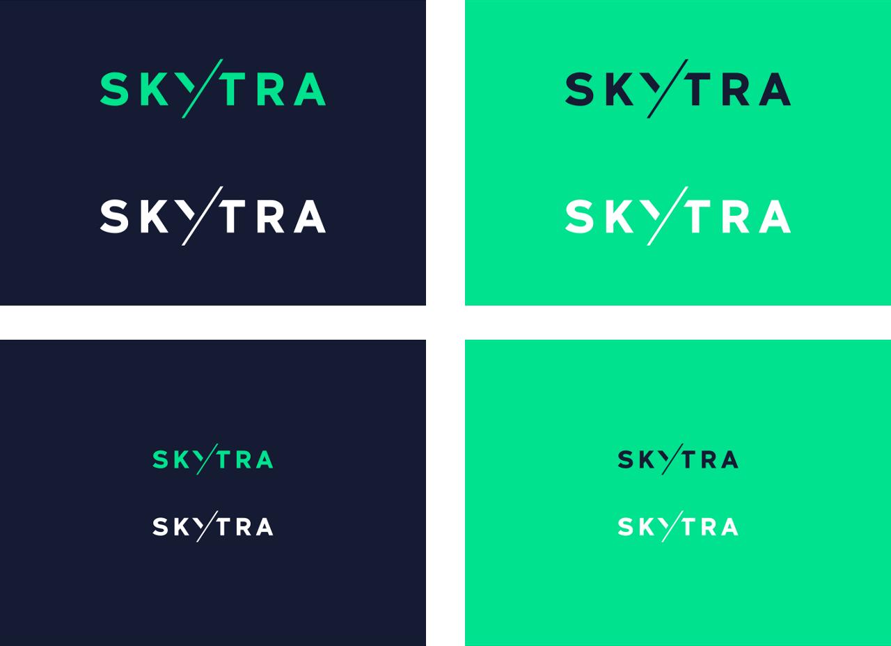 Skytra Logo Minimum Size