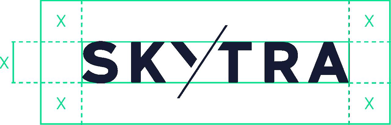Skytra Logo Protection Zone