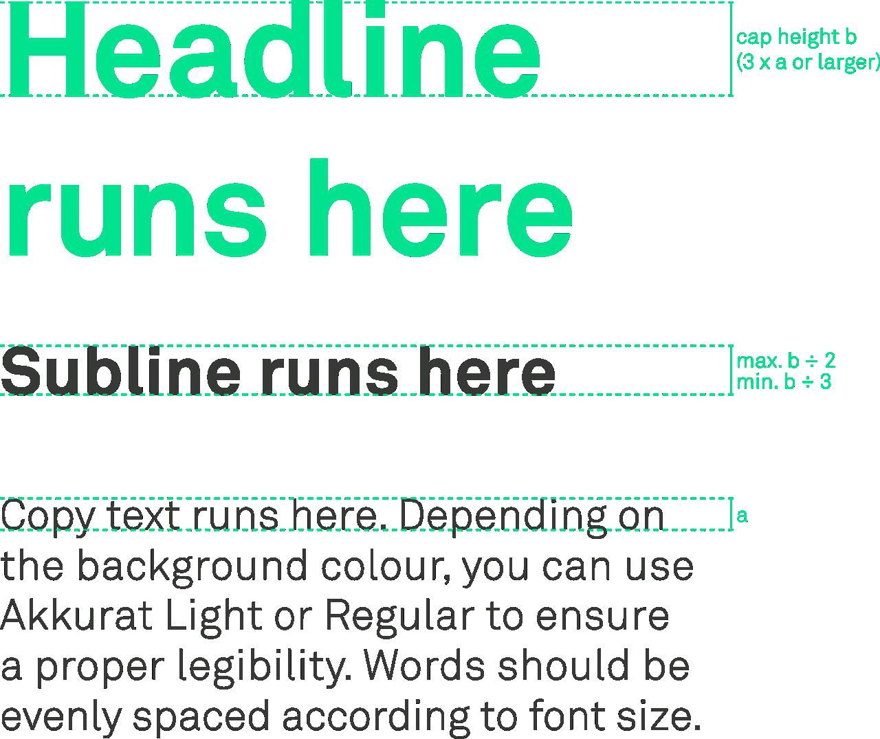 Skytra Typography