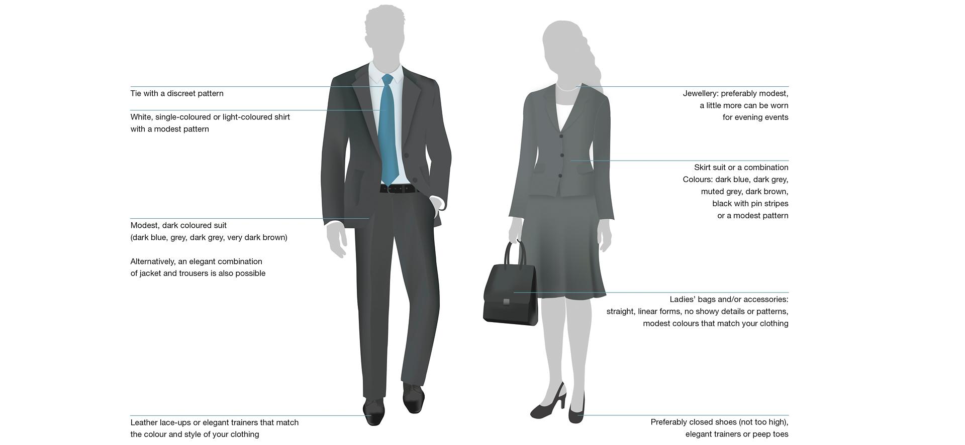 Dress Code Business Suit 1