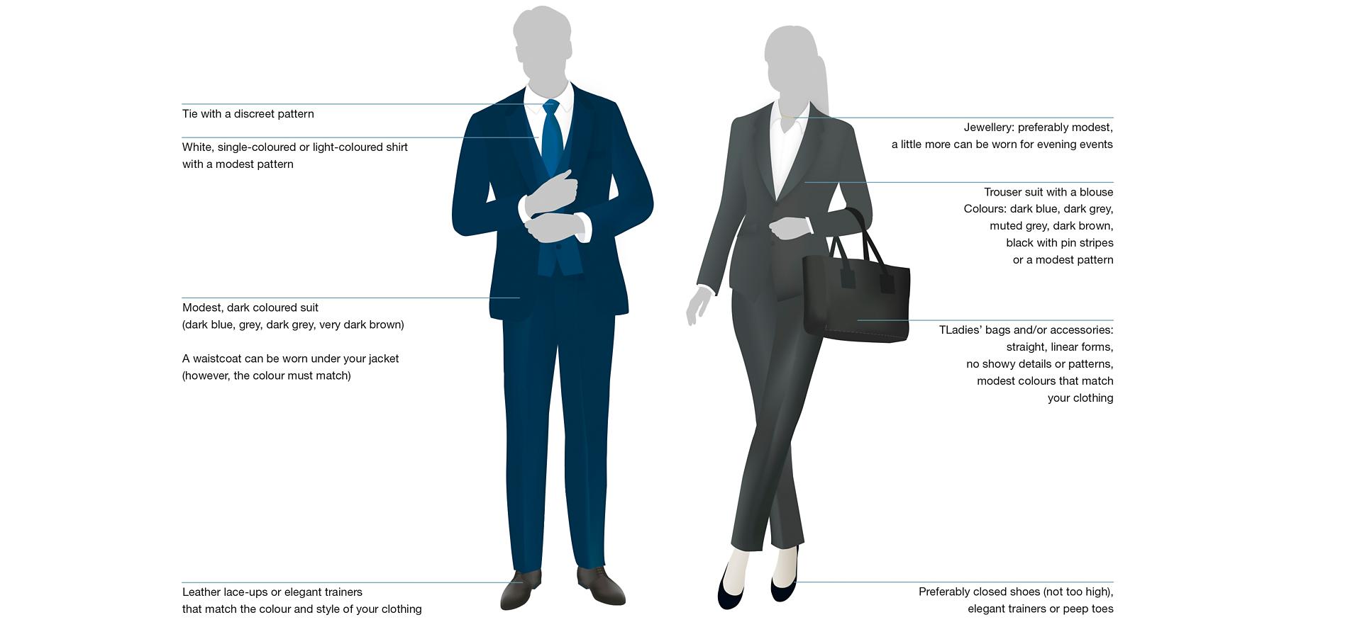 Dress Code Business Suit 2
