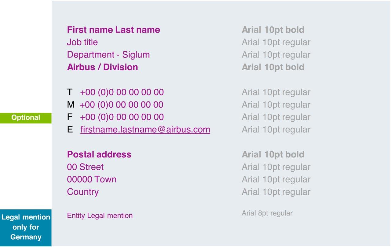 E Mail Signature Templates 1
