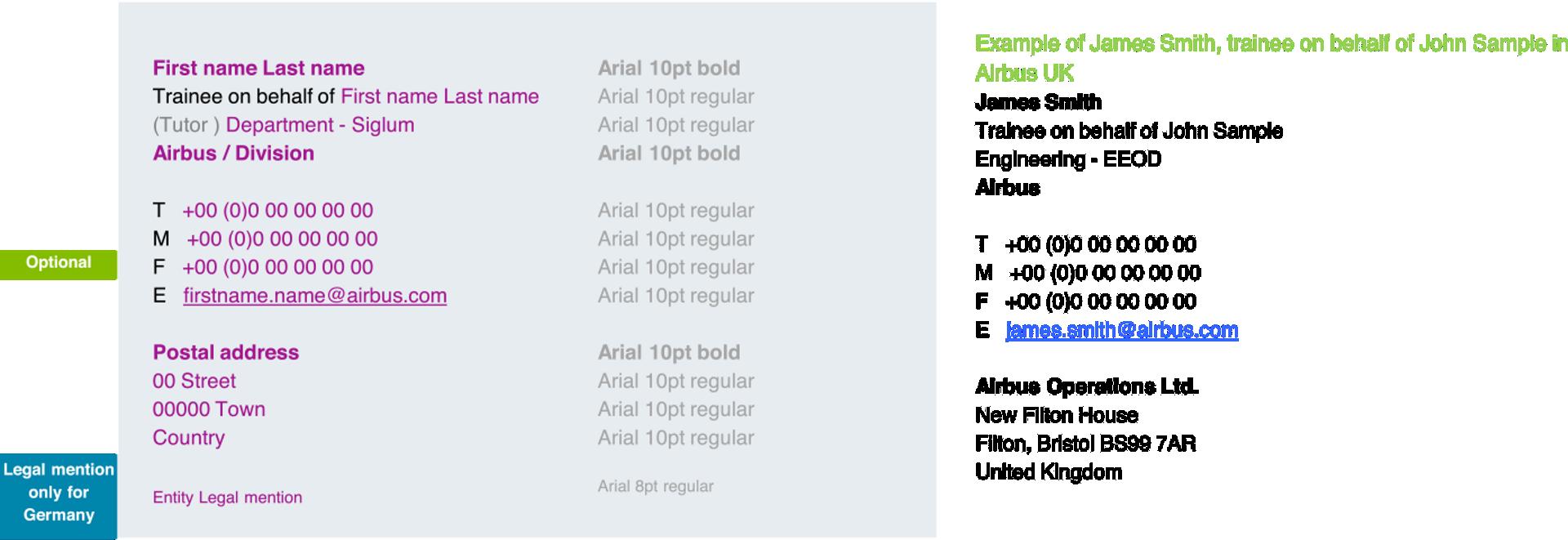 E Mail Signature Templates 3