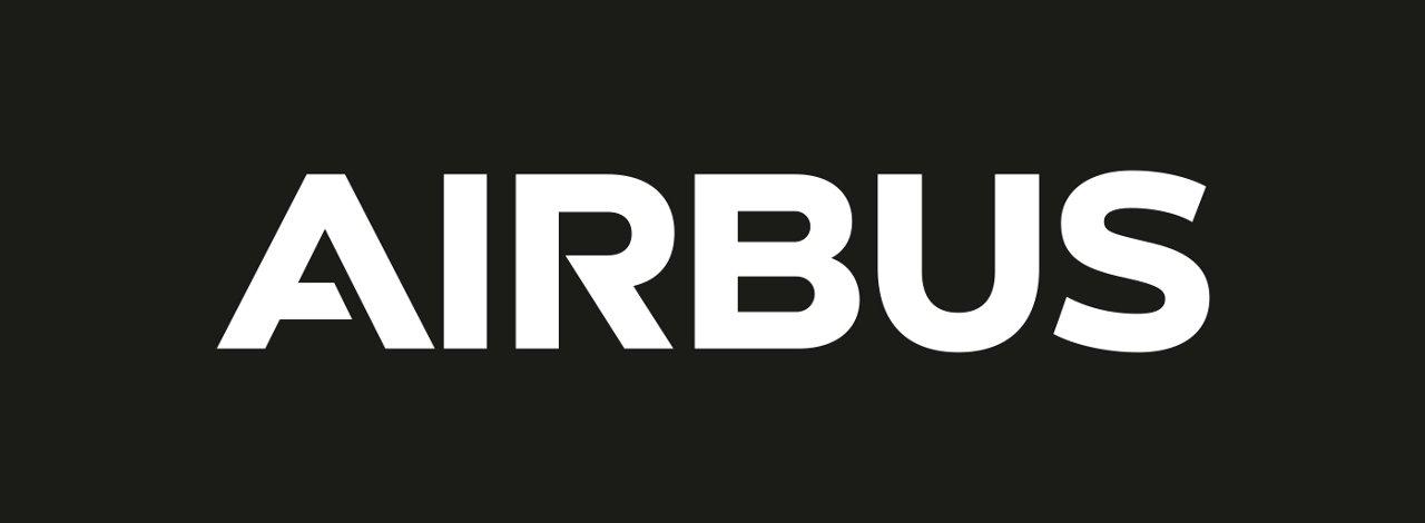 Airbus Logo White