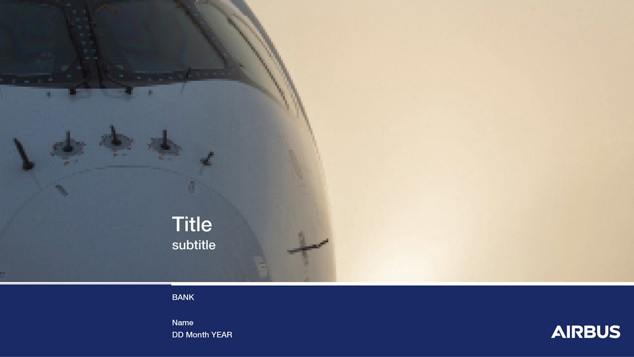Airbus Bank Powerpoint 1