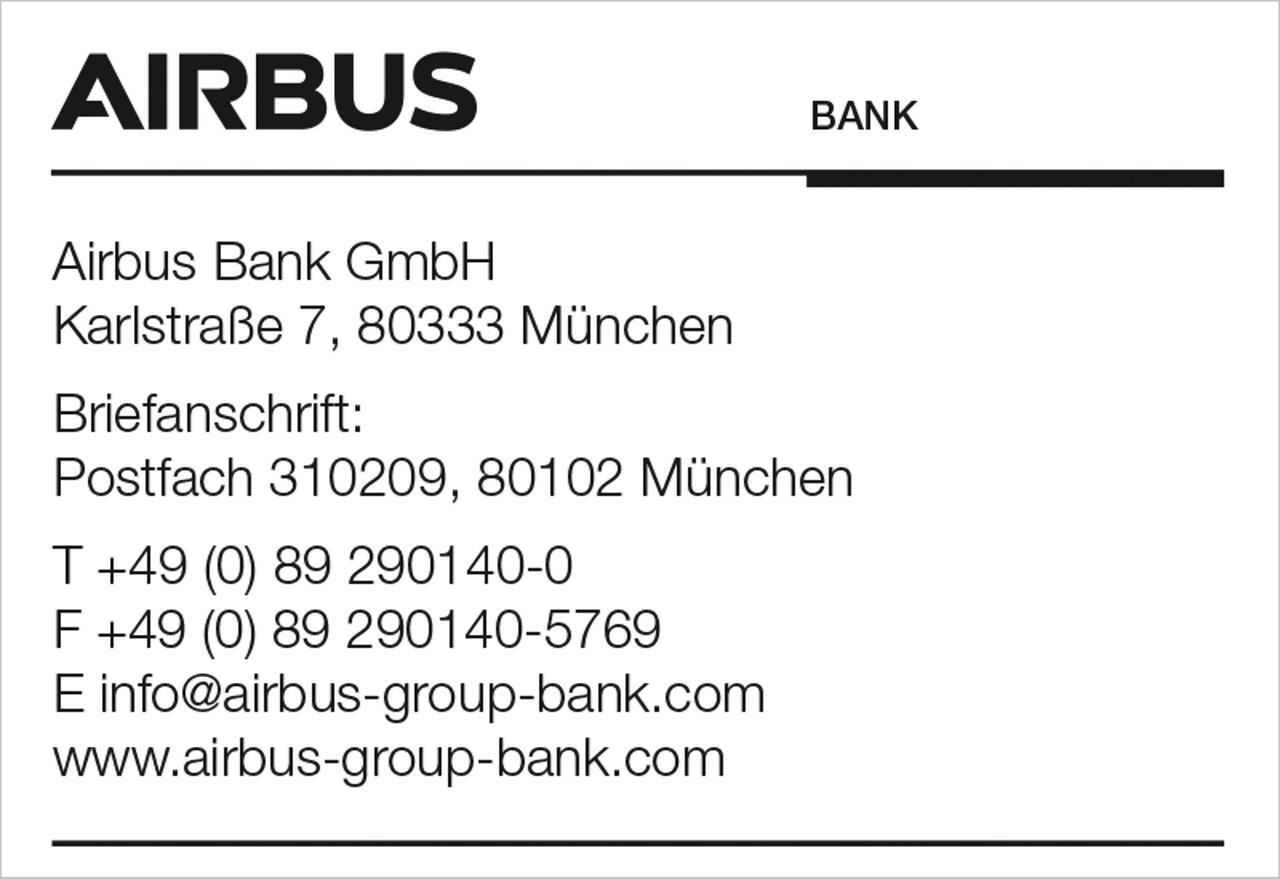 Airbus Bank Stamp