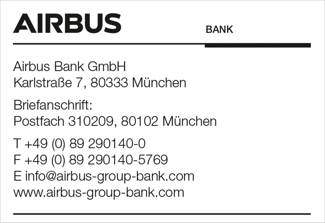 Airbus Bank Stamp