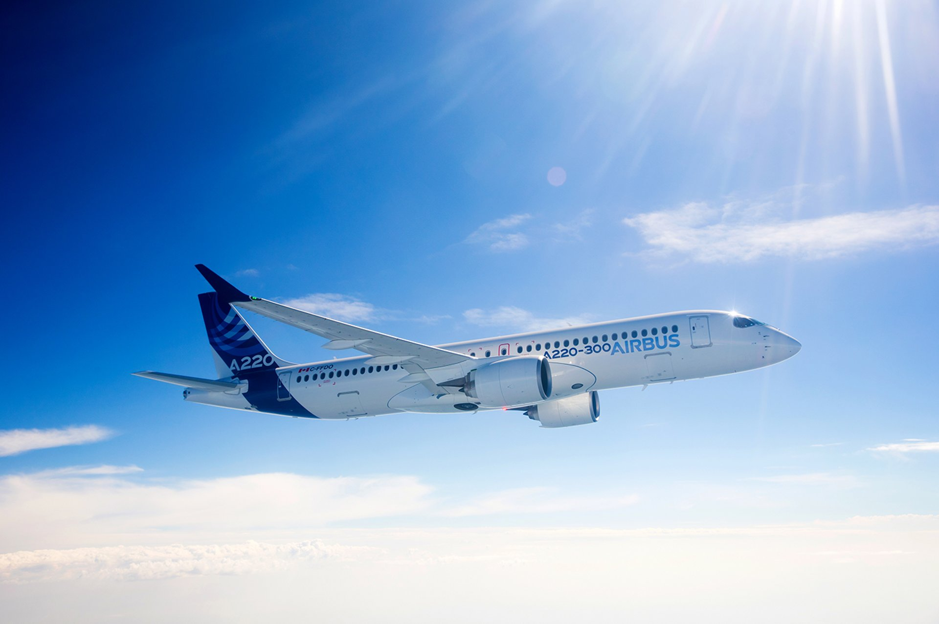 Airbus announces major performance improvement to its latest single-aisle aircraft – the A220 Family