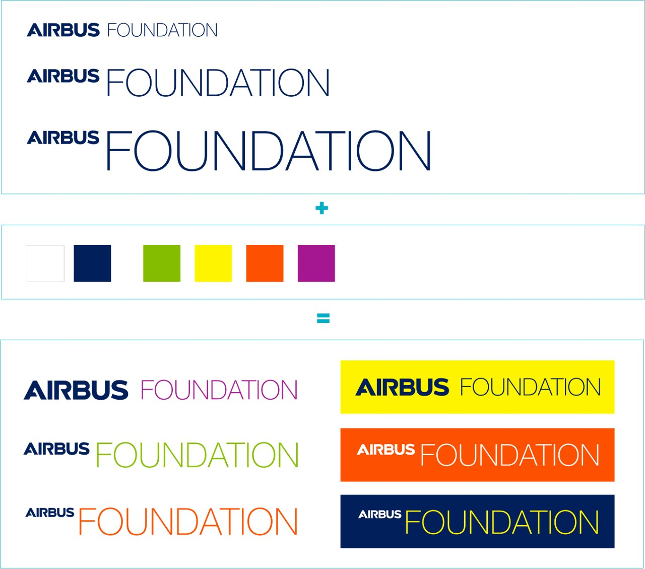 Airbus Foundation Logo Lock Up 3