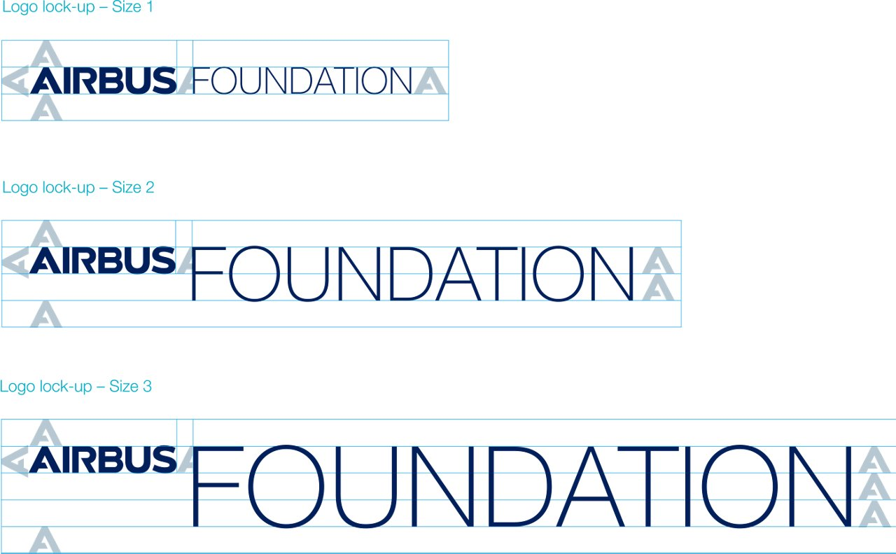 Airbus Foundation Logo Lock Up Sizes