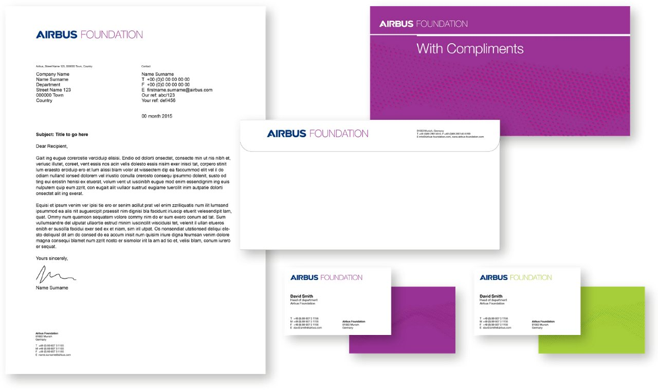Airbus Foundation Stationery 3