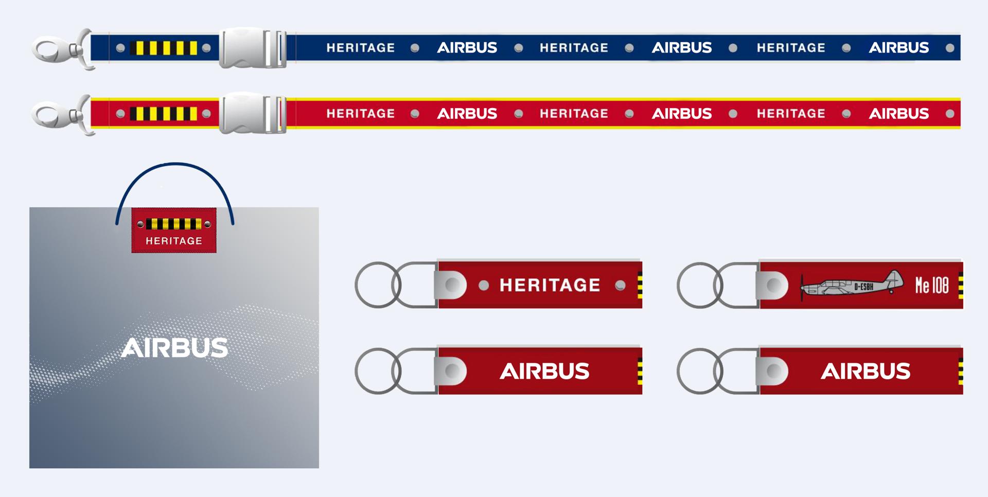 Airbus Heritage Merchandising