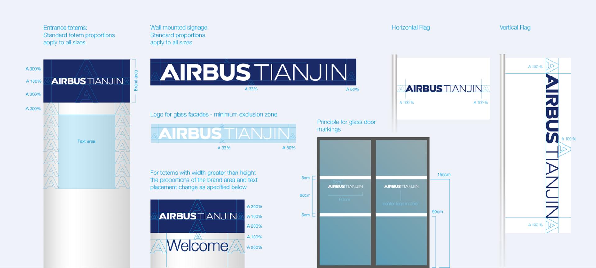 AirbusTJ Signage Ext