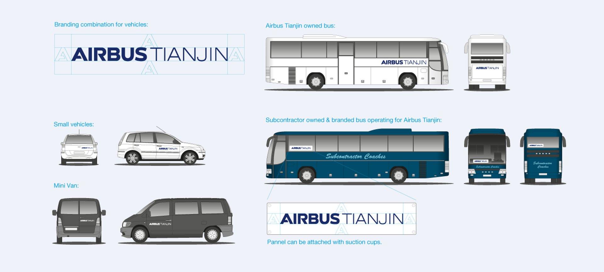 AirbusTJ Signage Vehicles