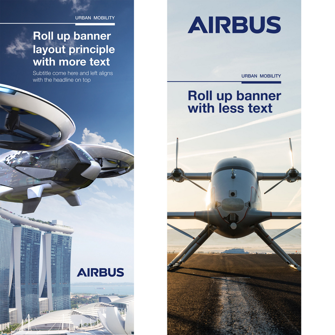 AIRBUS URBAN MOBILITY Roll Up