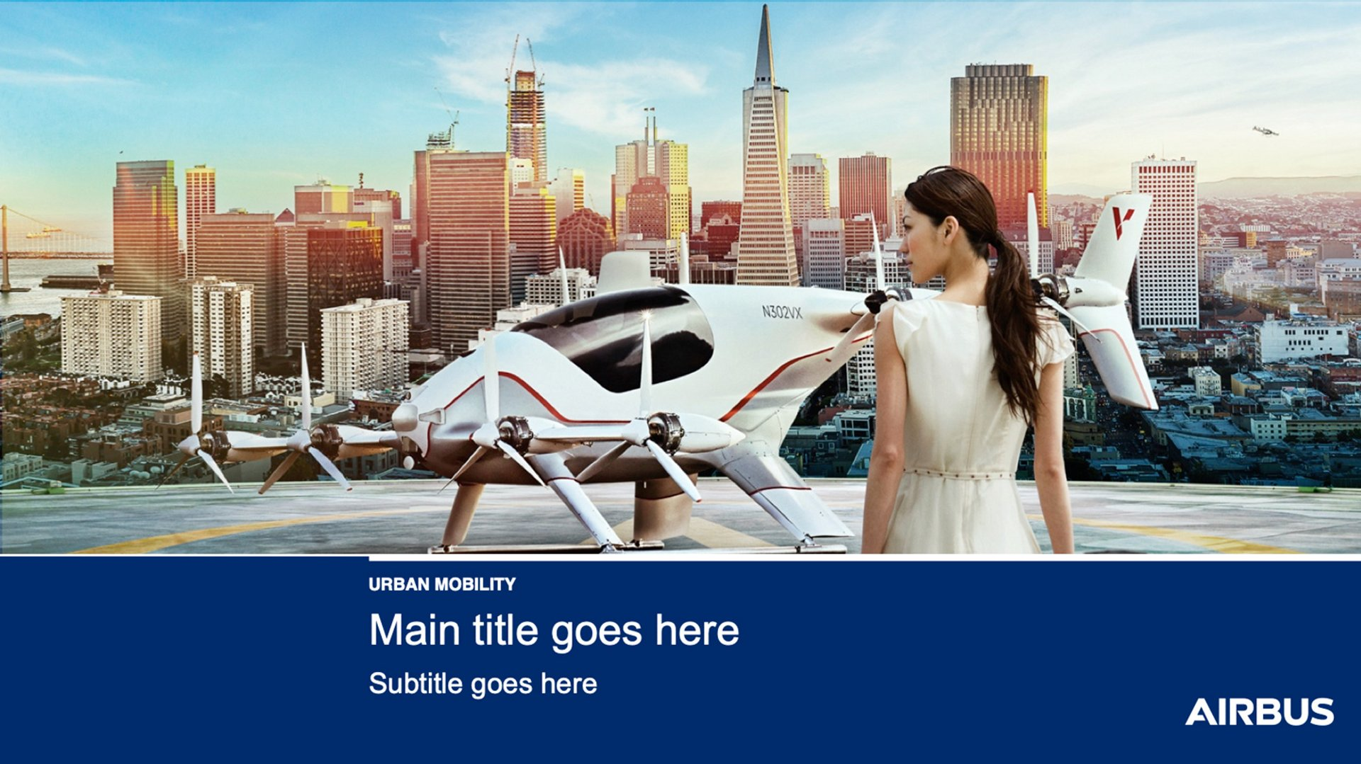Airbus Urban Mobility PPT Template 1