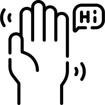 003 Waving Hand