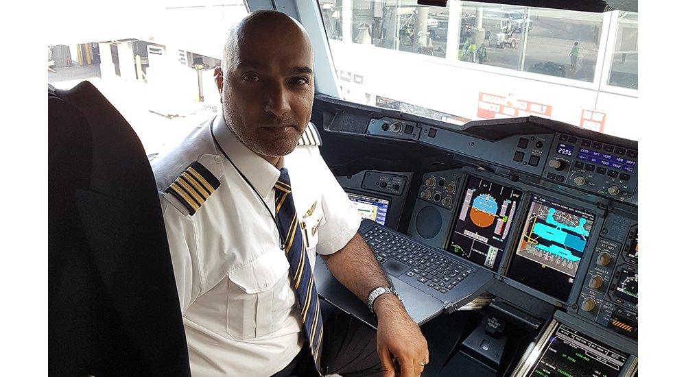 Ali Kashwani A380 captain Emirates