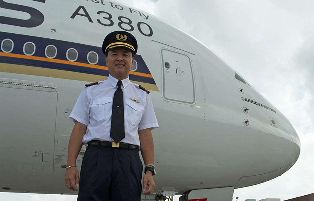 Behind the scenes with Airbus A380 pilots