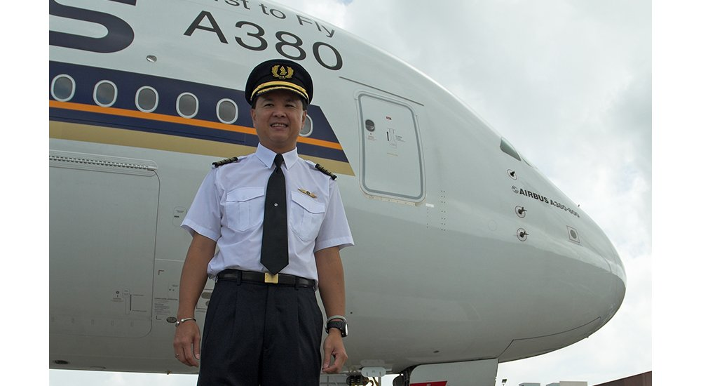 BK Chin A380 captain Singapore Airlines