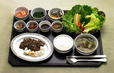 Asiana Airlines Dishes