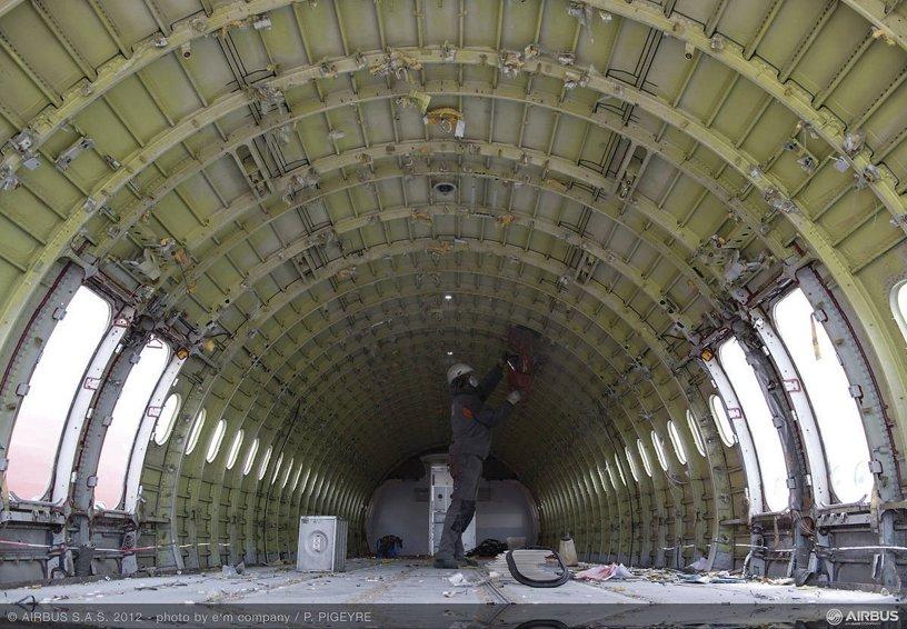 Aircraft dismantling