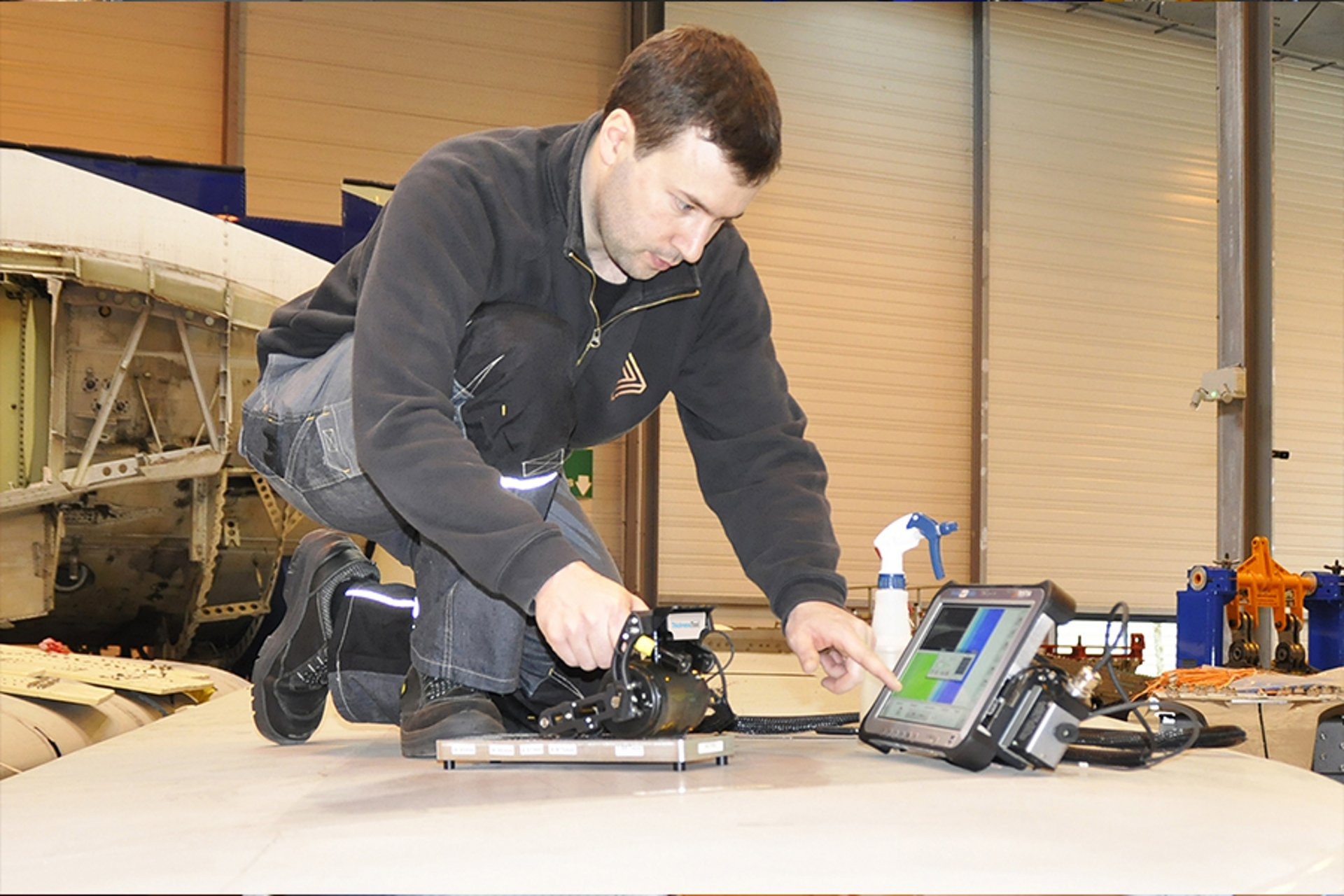 Aerostructures Inspection Equipment
