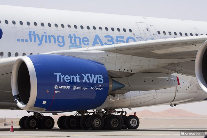 Engine Testing A380 Flight Test Bed