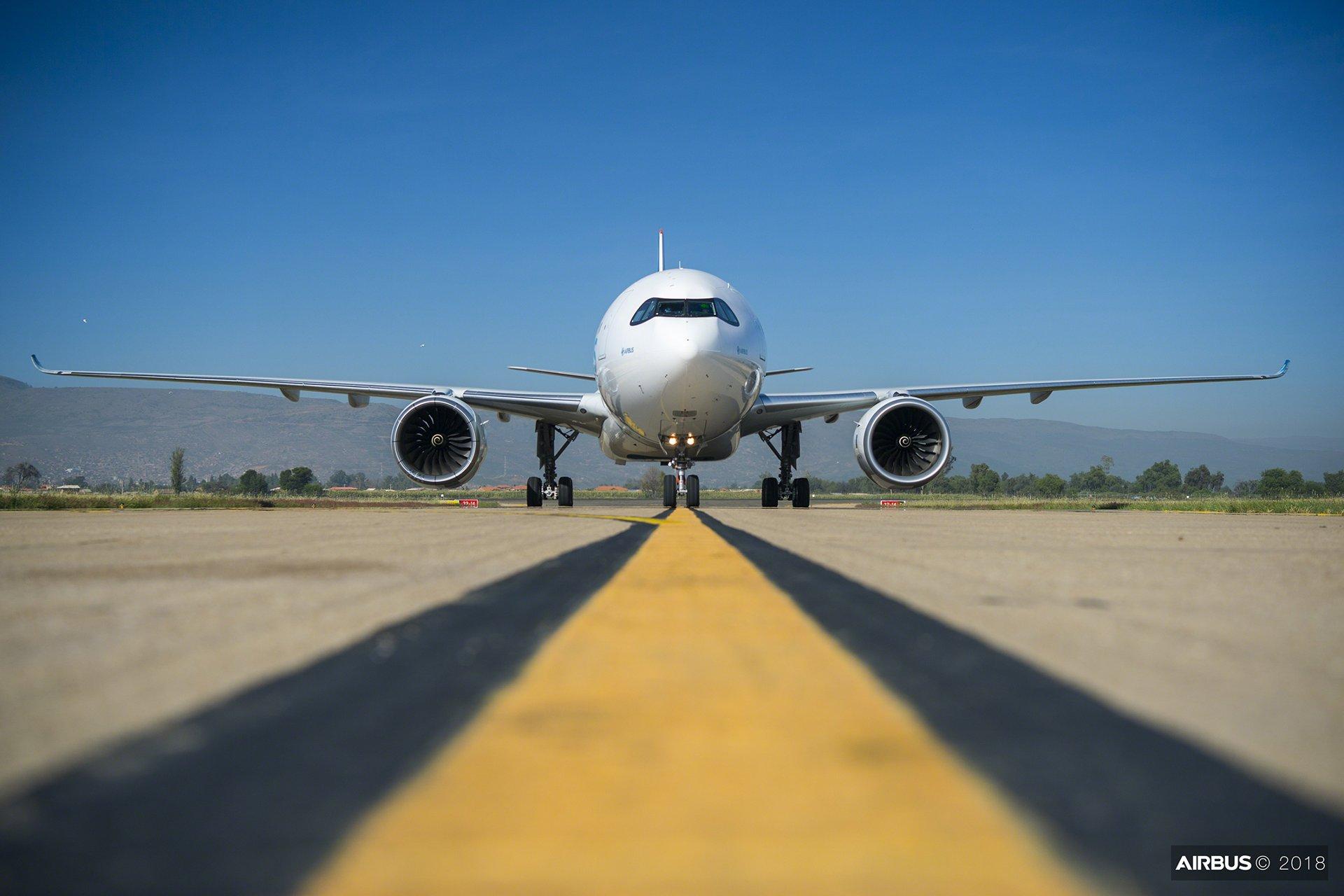 A330neo : Medium altitude test