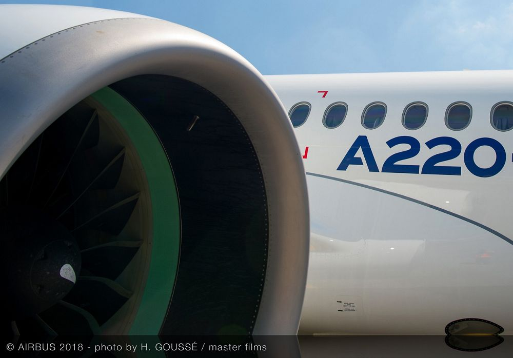 Airbus A220 300   Engine