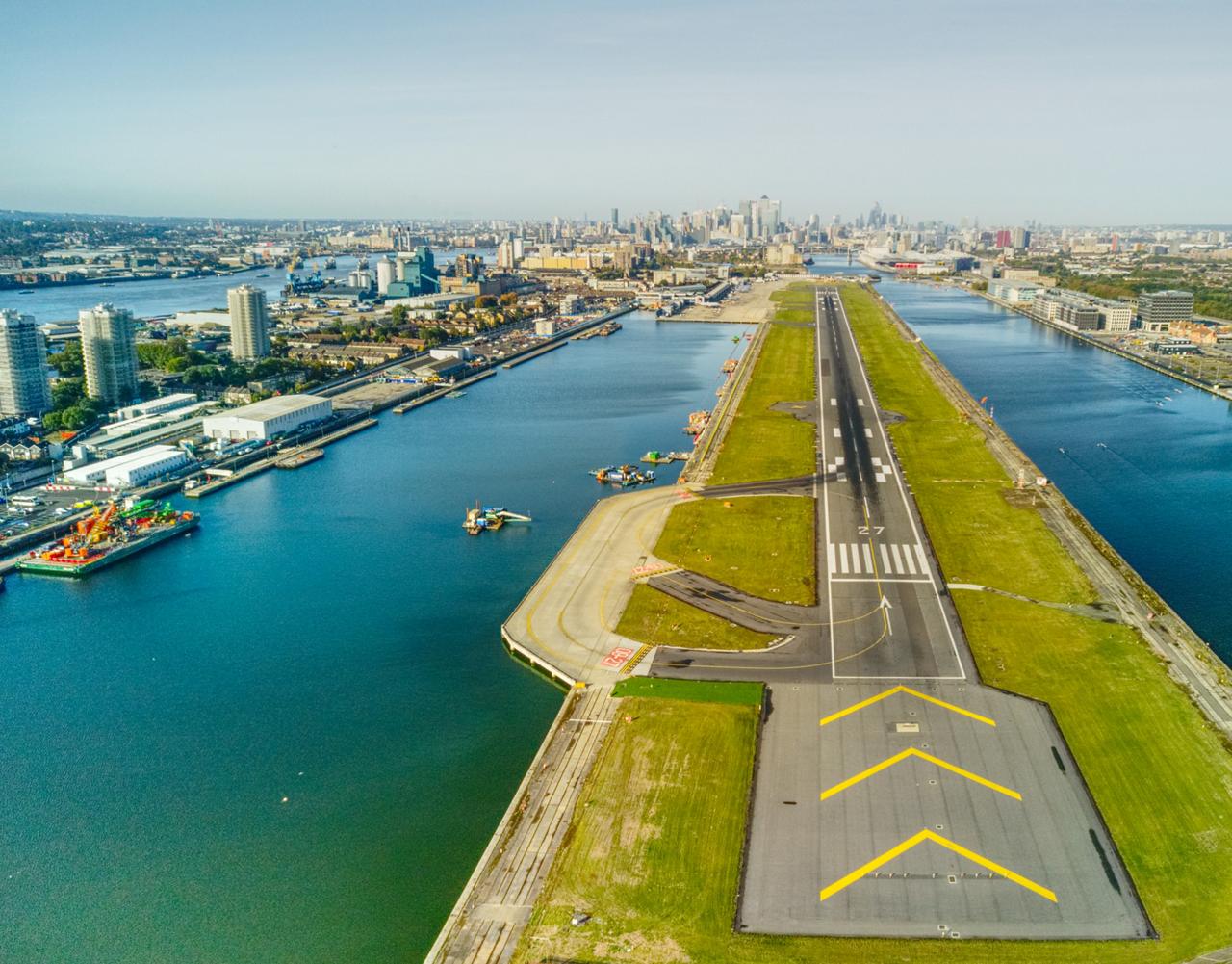 London Airport Runway 1