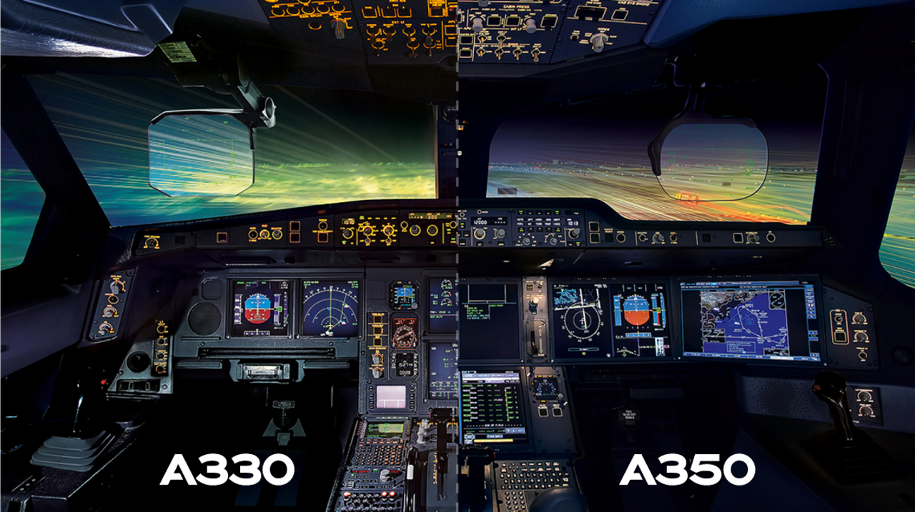 A330 A350 Cockpit Commonality