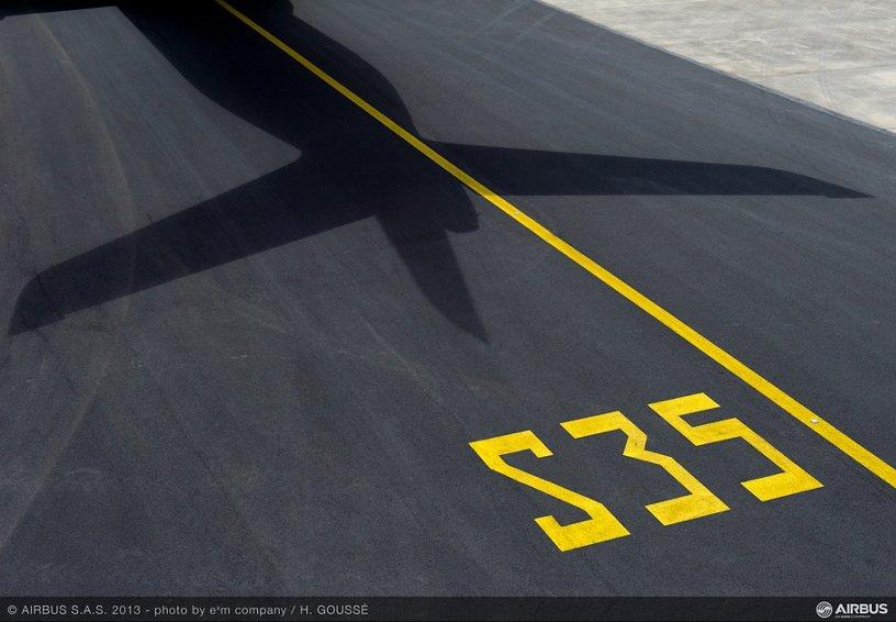 A350 MSN1 SHADOW