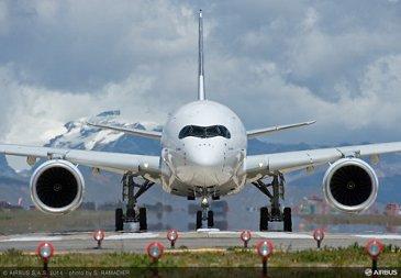 A350 AT LA PAZ - BOLIVIA
