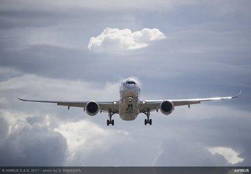 A350XWB landing